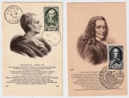 Frankreich, 1950, Serie Komplett   # 1422 - Cartoline Maximum