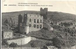 Haute Loire : Jonchères, Ancien Chateau Feodal - France
