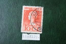 Regeringsjubileumzegel 10 Ct NVPH 124H 124 H (Mi 126) 1923 Gestempeld / USED NEDERLAND / NIEDERLANDE - 1891-1948 (Wilhelmine)