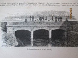 1867  Le  Canal CAVOUR   Italie   Chivasso Et Turbigo - Non Classificati