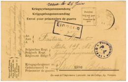 Kriegsgefangenenzendung, Verviers, Diest 22-06-1918 (pk20021)
