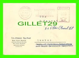 SANTÉ - DR FRANZ HARTER, HEIDELBERG, GERMANY - RHEUMATIC MANIFESTATIONS HODGKIN´S DISEASE - TRAVEL IN 1957 - - Santé
