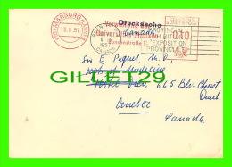 SANTÉ - LANDESVERSORGUNGSAMT WESTFALEN - TRAVEL IN 1957 - RHEUMATIC MANIFESTATIONS IN HODGKIN'S - DR E. PAQUET - - Santé
