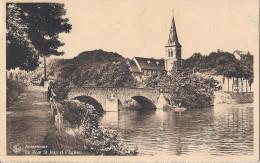 ANSEREMME ..-- Pont Saint - Jean . Vers ATHUS ( Melle Yvette GOBERT ) . Voir Verso . - Dinant
