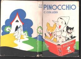 PINOCCHIO - C.COLLODI - CASA EDITRICE ADRIANO SALANI FIRENZE - Illust. Dal Pittore FIORENZO FAORZI- 1958 - - Livres Anciens