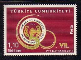 2013 TURKEY 50TH YEAR OF THE ANKARA UNIVERSITY FACULTY OF DENTISTRY MNH ** - Nuevos