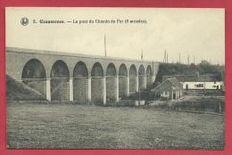 Ecaussinnes - Le Pont Du Chemin De Fer - 9 Arcades  ( Voir Verso ) - Ecaussinnes