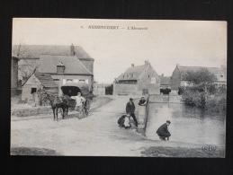 NORD- AUDENCOURT, L'Abreuvoir Caleche - Superbe Et Bien Animée ,non Voyagée, Excellent Etat - Francia