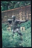 Robin Hood Statue, Nottingham - Old Pc - Arch - Archer - Archery - Tir à L'Arc