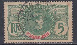 Haut-Sénégal   N° 4 0 : Type Faidherbes 5 C. Vert Oblitération Moyenne Sinon TB