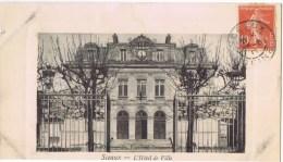 Cpa SCEAUX L Hotel De Ville - Sceaux