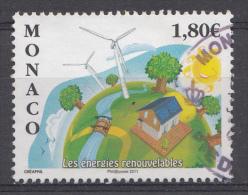 MONACO 2011 Mi.nr.: 3020 Erneuerbare Energie  OBLITÉRÉS / USED / GESTEMPELD - Gebraucht