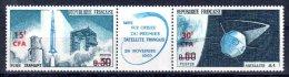 CFA REUNION 368 369 Ou 369A FUSEE Et SATELLITE ** MNH LUXE Sans Charnière - La Isla De La Reunion (1852-1975)