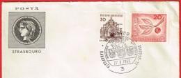 Hannover 1 Hanaposta Jumelage Philatélique 27.8.1966   Europa - Allemagne