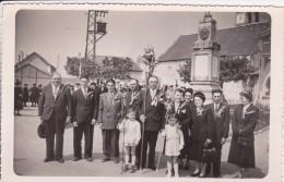 86 - SOSSAY - SOSSAIS   Fête Des Laboureurs 1953  Carte Photographique - Autres Communes
