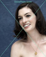 Anne Hathaway - 0581 - Glossy Photo 8 X 10 Inches - Personalità