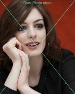 Anne Hathaway - 0607 - Glossy Photo 8 X 10 Inches - Personalità
