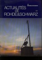 Rohde & Schwarz N° 131 1990 Banc De Test Calibrage D' Antennes Moniteurs Couleurs Testeur - Science