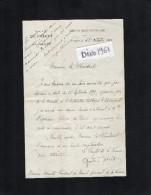 VP1675 - Lettre Du Préfet De La Vienne à POITIERS  Pour Mr Le Président Du Conseil Général Mr A. HERAULT - Autographs