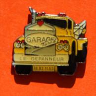 Pin´s - Garage Du Tunnel Lyon - Dépannage - Badges