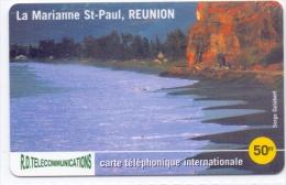 REUNION PREPAID PHONECARD-2000pcs-USED(5) - Reunion
