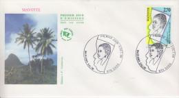 Enveloppe 1er Jour    MAYOTTE     Mariama   SALIM      SADA   1998 - Mayotte (1892-2011)