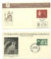 YUGOSLAVIA - 1951 2x Covers - 1945-1992 Socialist Federal Republic Of Yugoslavia