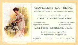 CHAPELLERIE EUG DEPAS à LIEGE Chapeaux - Textile & Vestimentaire