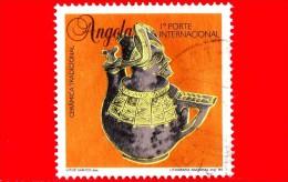 ANGOLA - Usato - 1995 - Ceramiche Tradizionali Angolane - 1 Porte Internacional - Angola