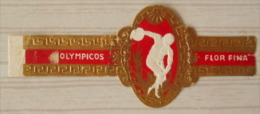 AA71 Bague Bagues Cigare Cigares  Flor Fina Olympicos  1 Pièce(s) - Bagues De Cigares