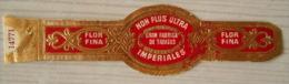AA74 Bague Bagues Cigare Cigares  Flor Fina Non Plus Ultra  Imperiales  1 Pièce(s) - Bagues De Cigares