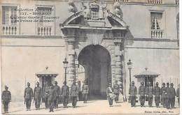 MONACO - Ancienne Garde D'Honneur Du Prince De Monaco - Palais Princier