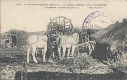 226. La Grande Guerre 1914-15 - De LENS à ARRAS - Près Des Tranchées, Campement En Terre Improvisé - Lens