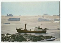 Départ Du Thaladan - Terre Adélie - TAAF - TAAF : Terres Australes Antarctiques Françaises