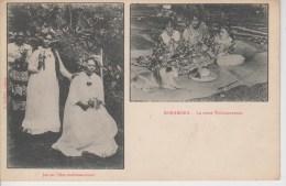CPA Bora Bora - Jeunes Filles Endimanchées - La Reine Teriimaevarua - Polynésie Française