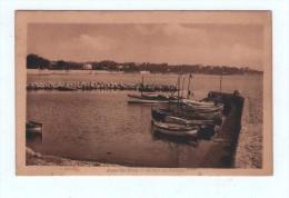 CPA JUAN LES PINS Le Port Du Crouton - Antibes