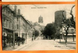MN9-11 Rodez  Boulevard Galy. Petite Animation. Ecrite Et Circulé Sous Enveloppe. - Rodez