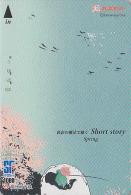 Carte Prépayée Japon - Série SHORT STORY - Quatre Saisons - Saison PRINTEMPS - PECHE - SPRING FISHING Japan Card - 01 - Saisons