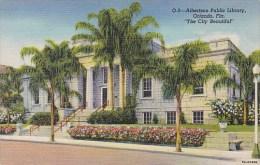 Florida Orlando Albertson Public Library 1948