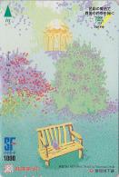 Carte Japon - Série De TAKUMASA ONO - Quatre Saisons - Saison PRINTEMPS / Nounours - SPRING & TEDDY Japan Card - 04 - Saisons