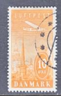 DENMARK  C 6   (o) - Airmail