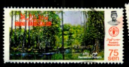 Brunei Scott N°315. Oblitérés - Brunei (1984-...)