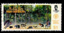 Brunei Scott N°316. Oblitérés - Brunei (1984-...)