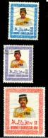 Brunei Scott N°334.338.341.oblitérés. - Brunei (1984-...)