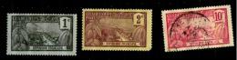 Guadeloupe. Scott N°59.oblitérés.54.55. Neuf** - Guadeloupe (1884-1947)