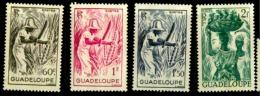 Guadeloupe Scott N°192.193.194.195..neufs** - Neufs