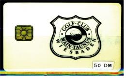 Telefonkarte  Golf-Club Main-Taunus  -  Wiesbaden  -  50 DM - Telefonkarten