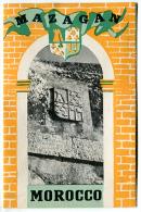 Dépliant MAZAGAN  MOROCCO 1952 - Exploration/Voyages