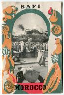 Dépliant SAFI  MOROCCO 1952 - Exploration/Voyages