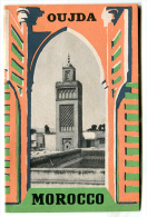 Dépliant OUJDA  MOROCCO 1952 - Exploration/Voyages